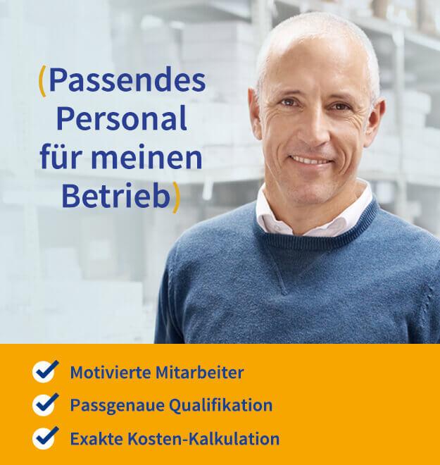 Passendes Personal für meinen Betrieb - Köln - Krefeld