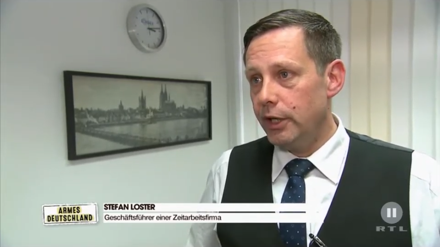RTL, RTL2 Zeitarbeit